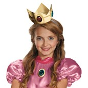 Super Mario Brothers - Princess Peach Crown & Amulet