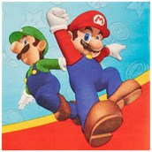 Super Mario Party Lunch Napkins