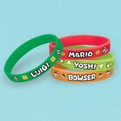 Super Mario Rubber Bracelet Favors (4)