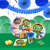 Super Why 16 Guest Tableware & Deco Kit