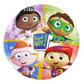 Super Why! Dinner Plates