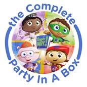 Super Why! Party in a Box