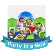 Super Why! Party in a Box For 8