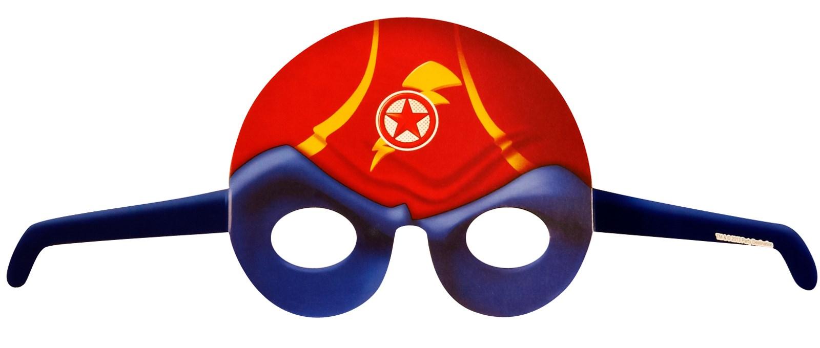 Superhero Comics Mask