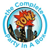 Superhero Comics Party in a Box