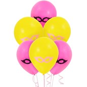 Superhero Girl Latex Balloons
