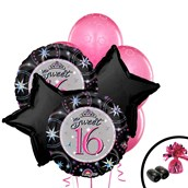 Sweet 16 Balloon Bouquet