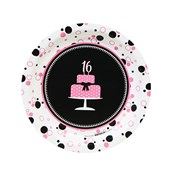 Sweet 16 Dessert Plates (8)