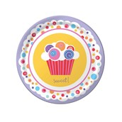 Sweet Cupcake Party Dessert Plates (8)
