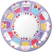 Sweet Cupcake Party Dinner Plates (8)