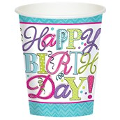 Sweet Party 9oz Paper Cups (8)