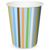 Sweet Safari Blue 1st Birthday 9 oz. Paper Cups