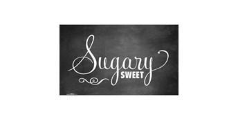Sweet Station Chalkboard Banner