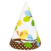 Sweet Tweet Bird Blue - Cone Hats