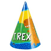 T-Rex Cone Hats (8)