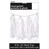 Tassel Garland – White