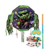 Teenage Mutant Ninja Turtles Drum Pull-String Pinata Kit