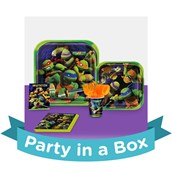 Teenage Mutant Ninja Turtles Party in a Box For 16