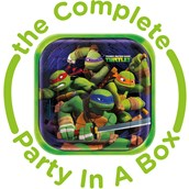 Teenage Mutant Ninja Turtles Party in a Box