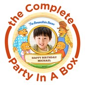 The Berenstain Bears Personalized Party in a Box