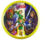 The Legend of Zelda Dinner Plates