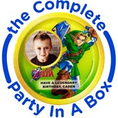 The Legend of Zelda Personalized Party in a Box