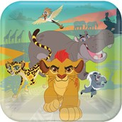 """The Lion Guard 9"""" Luncheon Plate (8)"""