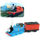 Thomas the Train and Coal Car Cake Topper (3 Pieces)
