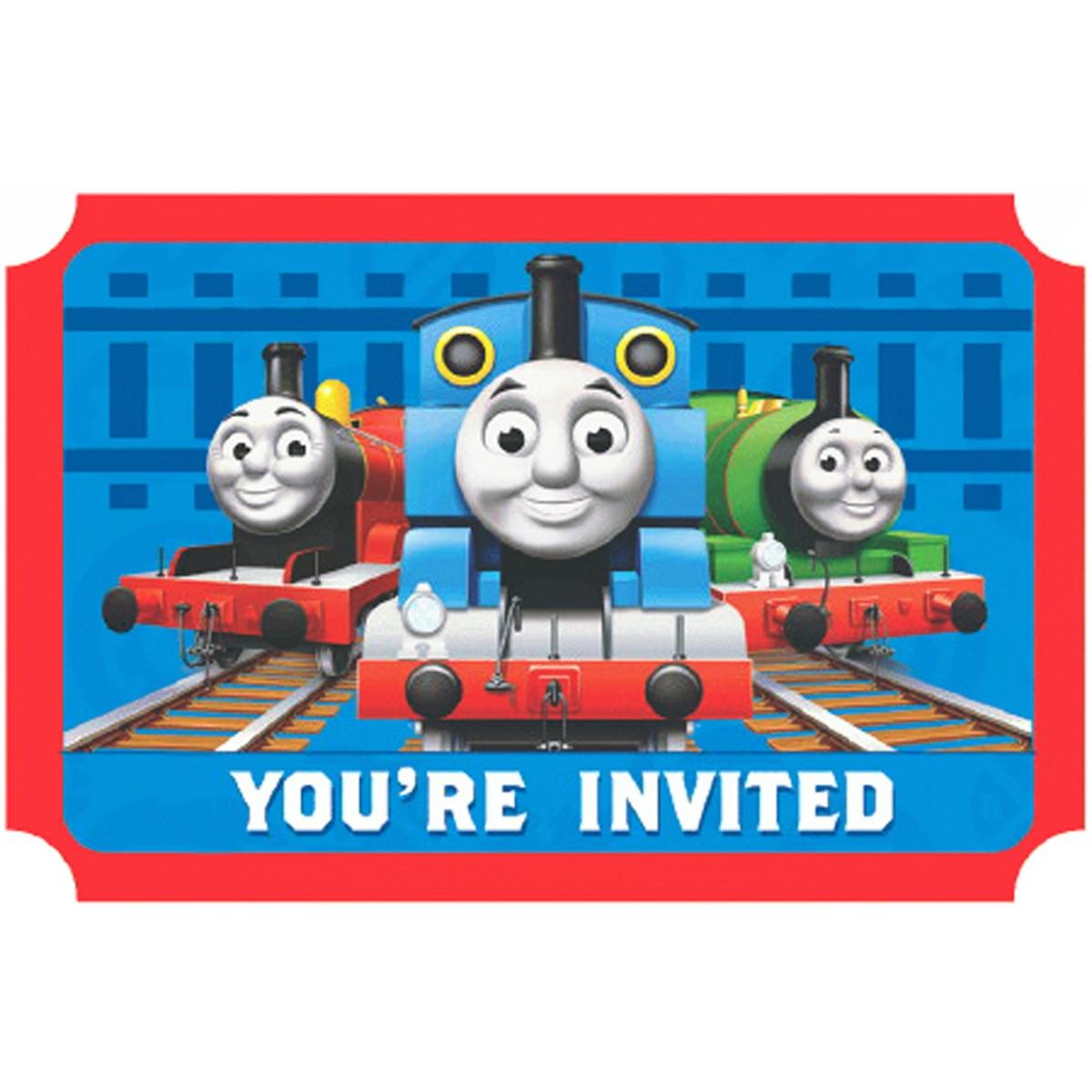 Thomas the Train Invitations | BirthdayExpress.com