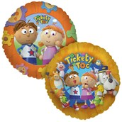 Tickety Toc Foil Balloon
