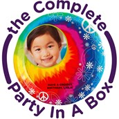 Tie Dye Fun Personalized Party in a Box
