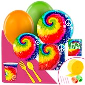 Tie Dye Fun Value Party Pack