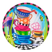 Topsy Turvy Tea Party Dinner Plates