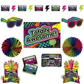 Totally 80s Room Decorating Kit (1)