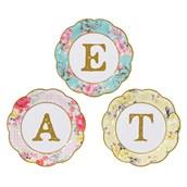 "Truly Scrumptious ""Eat"" Desset Plates (12)"