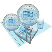 Twinkle Twinkle Little Star Blue 24 Guest Party Pack