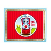 Two-Two Train 2nd Birthday Activity Placemats