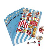 Under the Big Top Sticker Sheets
