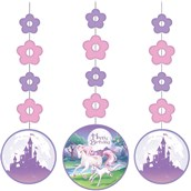 "Unicorn Fantasy 36"" Hanging Decorations"