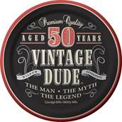 Vintage Dude 50th Cake Plates 7 (8)