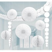 White Paper Decorating Kit