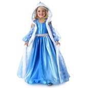 Winter Princess Girls Gown and Cape