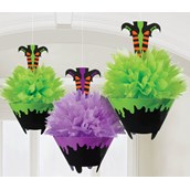 Witch Fluffy Decorations