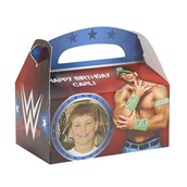 WWE Personalized Empty Favor Boxes (8)