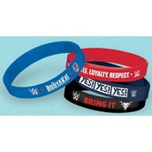 WWE Rubber Bracelets (4)