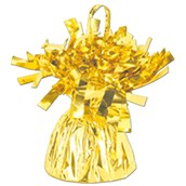 Yellow/Gold Balloon Weight