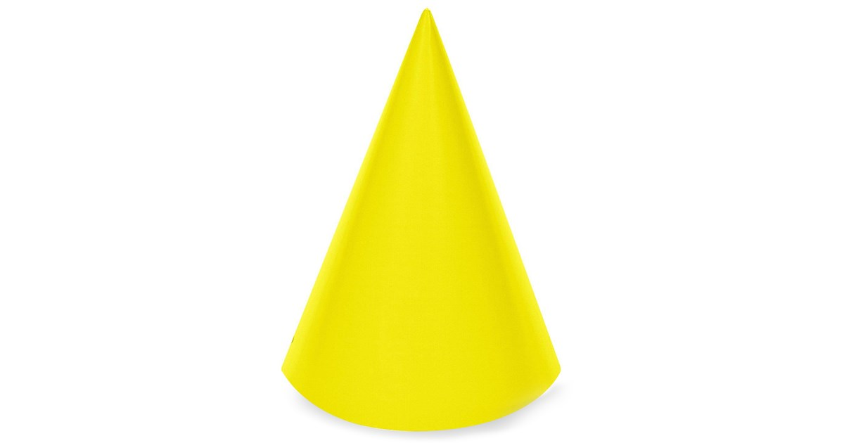 Yellow Cone Party Hats Birthdayexpress Com