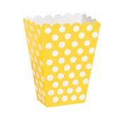 Yellow Dot Treat Boxes