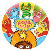 Yo Gabba Gabba! Party - Dinner Plates