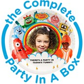 Yo Gabba Gabba! Personalized Party in a Box